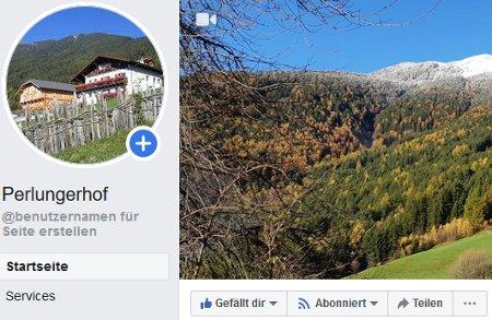 Perlungerhof auf Facebook