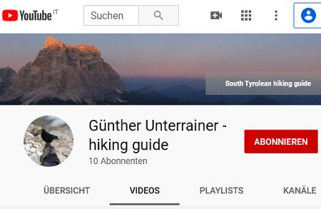 Perlungerhof Youtube mindful hiking
